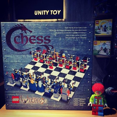 Lego G577 Vikings Chess Set (Unity Toy)