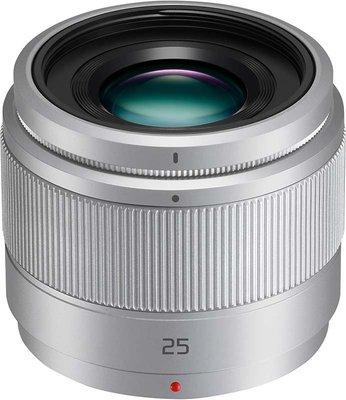 【eWhat億華】Panasonic Lumix G 25mm f1.7 ASPH 大光圈 M43 接環 GF7 拆鏡 裸裝 平輸 銀色  【4】