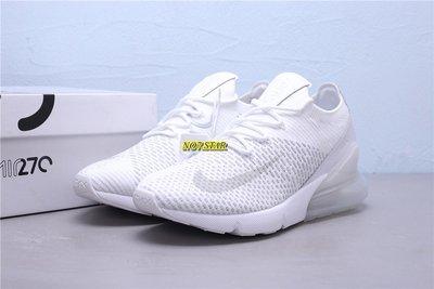 NIKE AIR MAX 270 FLYKNIT 白灰 全白 米白 針織 反光 氣墊 休閒 男女鞋 AO1023-102