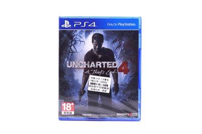 【橙市青蘋果】PS4:祕境探險4 盜賊末路 Uncharted 4 A Thief's End 中英文合版 #21918