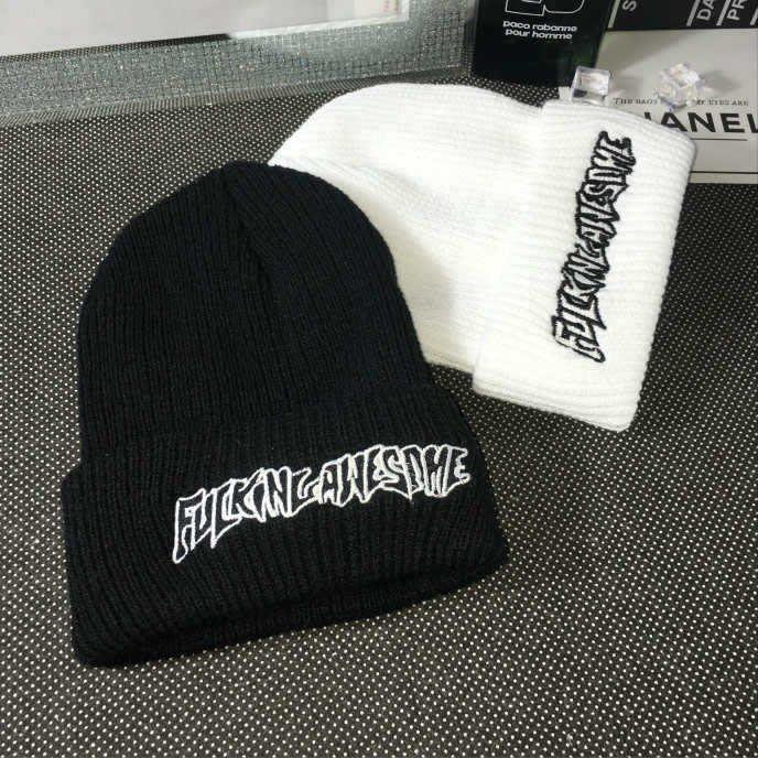 【私房款】針織帽秋冬季保暖帽子新款男士女士針織帽韓國純色戶外套頭毛線