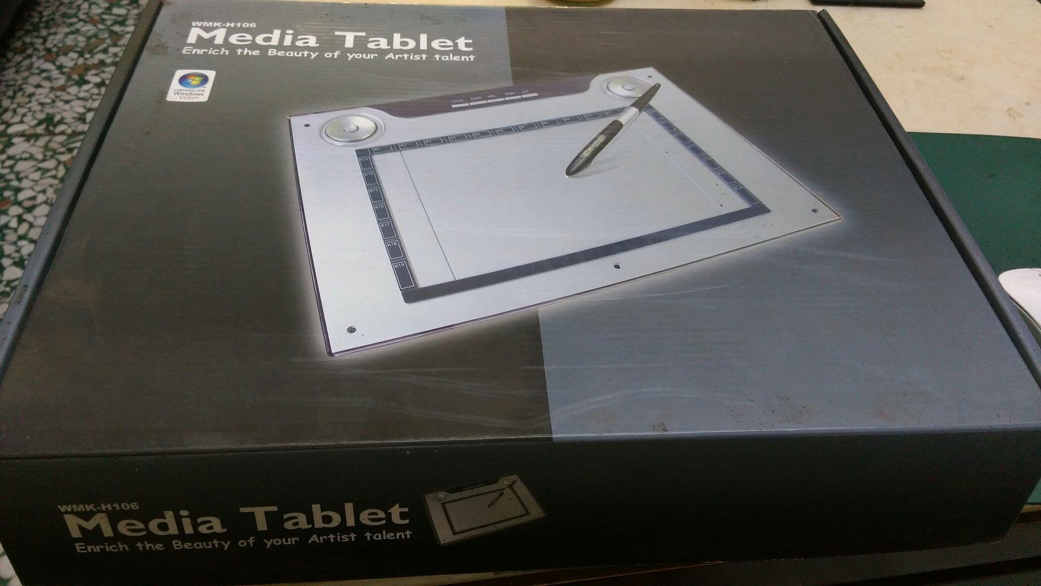 [好友雜貨店] Media  Tablet WMK-H106   繪圖/手寫板