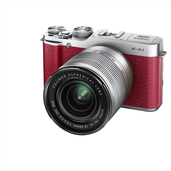 【eWhat億華】 FUJIFILM X-A1 XA1 搭 16-50MM  單鏡 翻轉LCD 可參考 XM1 公司貨 紅色 限士林 【4】