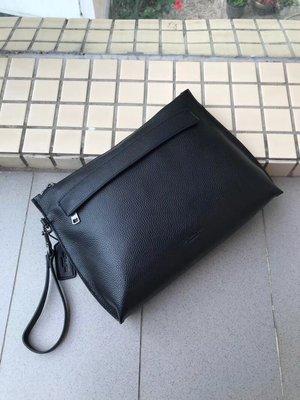 【紐約精品舖】COACH 28614 大號薄款男士手拿包 手腕包 coach outlet附購證 贈禮品袋 美國正品代購