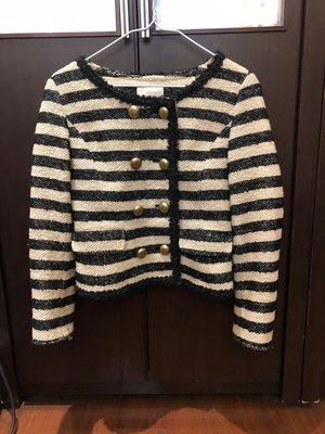 日系品牌「Clear Impression」黑色條紋西裝外套