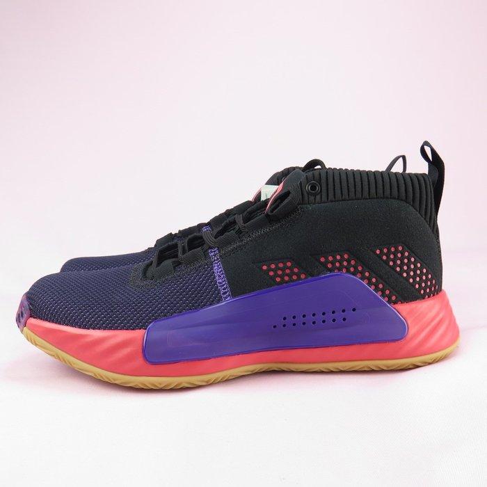 【iSport愛運動】adidas 愛迪達 DAME 5 籃球鞋 正貨 EE4058 男款 紅紫