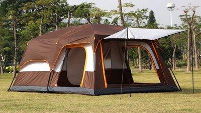 新改款 駱駝 雙房一廳 2房1廳 二房一廳 三房 8~12人 大帳篷 帳棚 露營 客廳帳 帳蓬 休閒帳篷