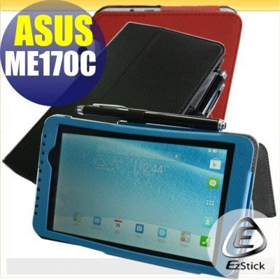 【EZstick】ASUS MeMO Pad ME170C K017 專用皮套(背夾旋轉款式)(送平板機身背貼)