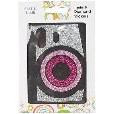 台南弘明攝影FUJI Mini 8 Mini8  拍立得 機身 貼紙 機身貼 機身貼紙 水鑽貼 一共2款