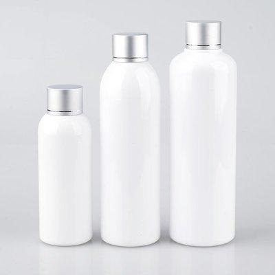 戀物星球 100MLPET白色透明黑色亞銀切線電化鋁蓋塑料瓶譽裝