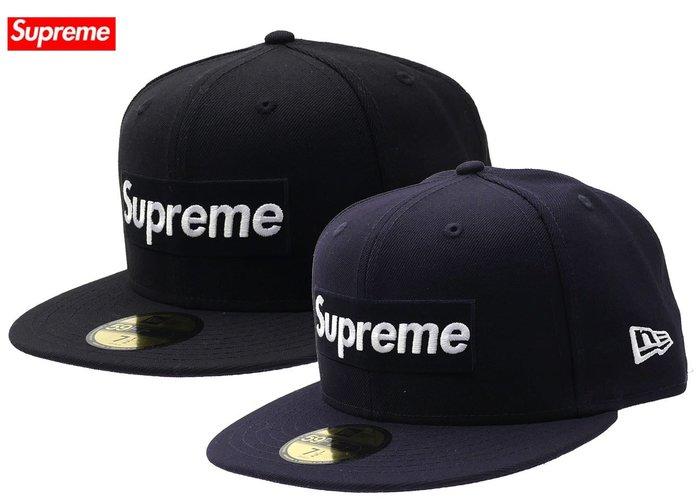 【超搶手】全新正品2017 Supreme x New Era Playboy Box Logo 刺繡 硬挺羊毛 棒球帽