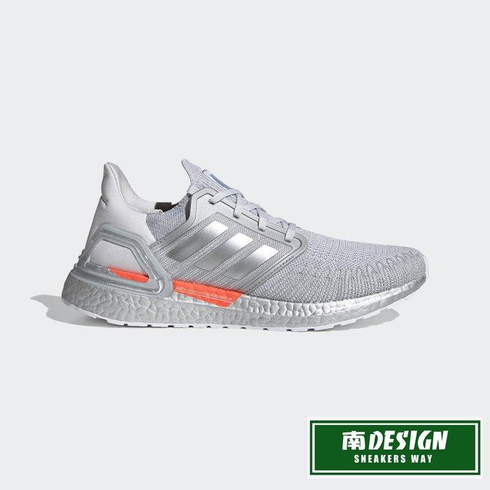 南◇2020 12月 Adidas SPACE RACE ULTRABOOST 20 DNA 跑鞋 FX7957 灰銀橘