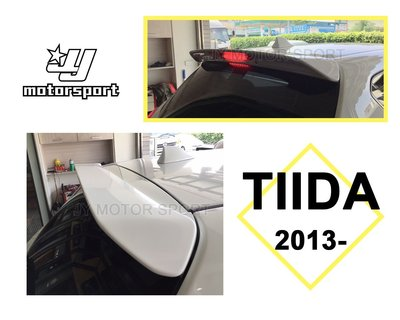 》傑暘國際車身部品《 全新 NISSAN BIG TIIDA 5D 14 15 年 5門 TIIDA尾翼 含烤漆