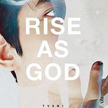 特別專輯「RISE AS GOD」(韓國進口版)/東方神起 Tohoshinki---SMK0547