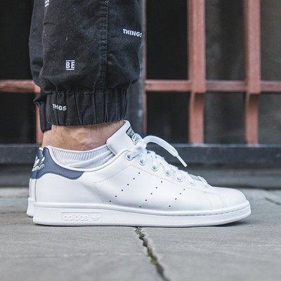 男女 ADIDAS ORIGINALS STAN SMITH 白色 白藍 皮革 復古 休閒鞋 M20325 請先詢問庫存
