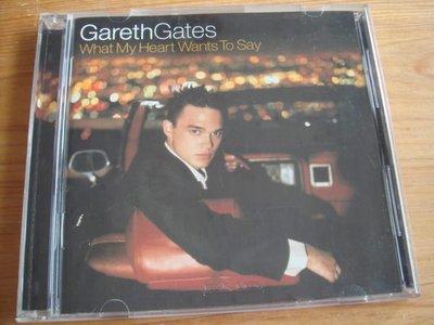 [鄉土情紀實館]二手CD~GARETH GATES:WHAT MY HEART WANTS TO SAY~2002年