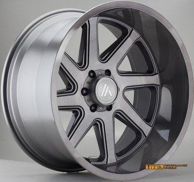 20吋 鋁圈 6X139.7 9.5J ET20 Ford Range、皮卡、大型休旅車、客貨車皆可適用客製
