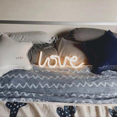新品上市 LED LOVE款 光管字體霓虹燈 暖白/粉光 氣氛神器 個性裝飾 婚慶用品 ☆司麥歐LED精品照明