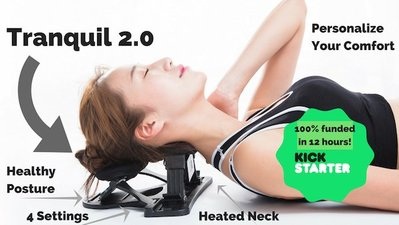Tranquil 2.0 肩頸舒緩器+加熱墊