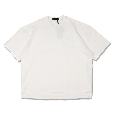 Freaky House-日本Audience 10盎司老式美國棉吸汗和速乾寬鬆版落肩短袖T白色