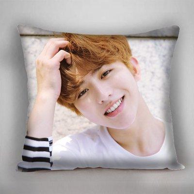 蔡徐坤 抱枕 偶像練習生 抱枕 靠枕 雙面印刷  雙面圖可不同 生日禮 贈品