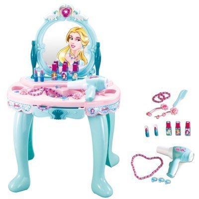 仿真家家酒玩具~冰雪美幻公主化妝台梳妝台~有聲光音效喔~小女生的最愛~◎童心玩具3館◎