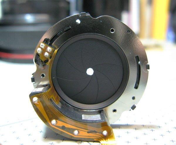 【數位達人相機維修】整組光圈更換 CANON 24-70mm f2.8 L II 2代 光圈維修 光圈故障