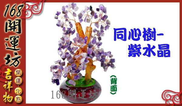 【168開運坊】同心樹【情侶//夫妻//家人//工作團隊//彼此同心--紫水晶同心樹】開光/淨化