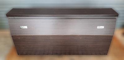 樂居二手家具 便宜2手傢俱拍賣 B1023AJJE 胡桃床頭櫃 床頭箱 置物箱 臥室家具拍賣 台北新竹桃園彰化苗栗南投