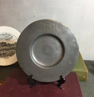 白明月藝術/古物雜貨店 古董錫盤