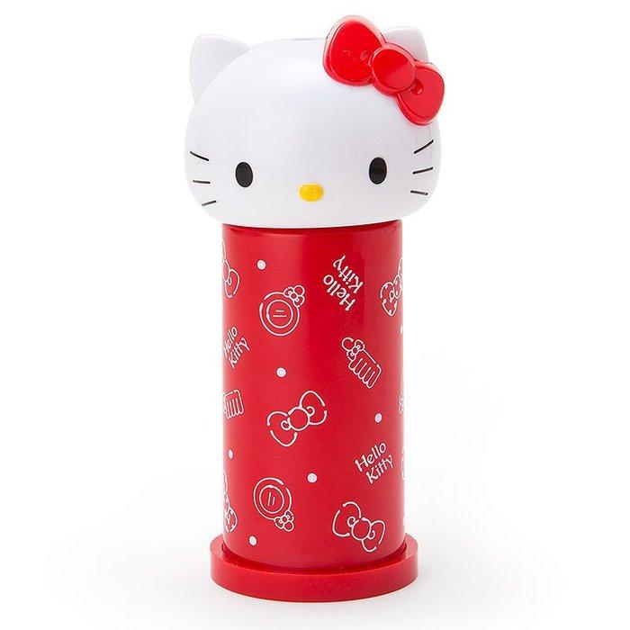 按壓式 彈跳 造型 棉花棒罐 Hello Kitty 美樂蒂 小日尼三 團購 批發 優惠 現貨 免運費 不用等