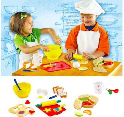 【晴晴百寶盒】美國進口 西點廚具組 手做辦家家酒 可愛益智玩具 益智遊戲 送禮禮物禮品 創意寶寶早教益智遊戲 W407