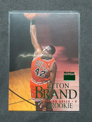 Elton Brand 1999-00 Skybox Premium RC 20世紀末代狀元