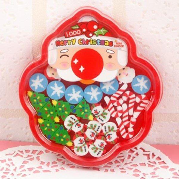 MINI ERASER聖誕盤裝橡皮擦粒【XM0119】《Jami Honey》