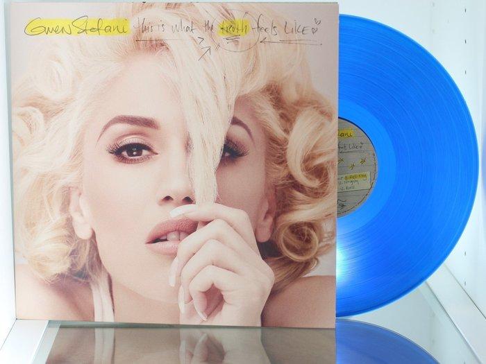 美版黑膠-關史蒂芬妮  真心話   藍色膠 Gwen Stefani  This Is W
