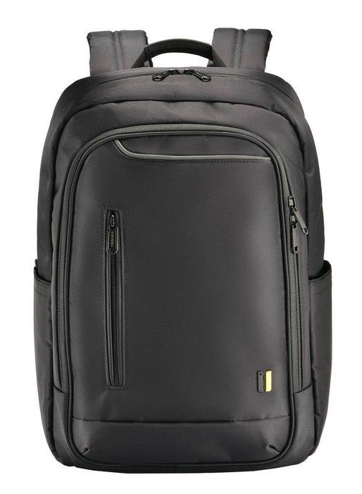 【SUMDEX】PON-160BK X-sac都會商務雙肩電腦包15.6(黑)