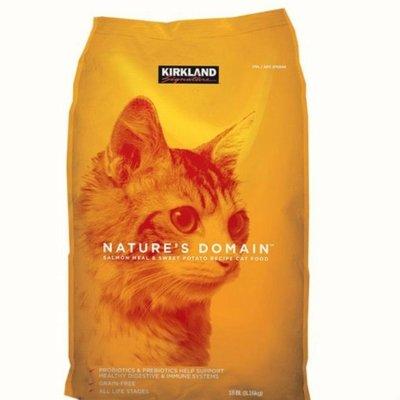 缺貨中好市多貓飼料橘包科克蘭鮭魚甘薯配方乾貓糧 8.16公斤