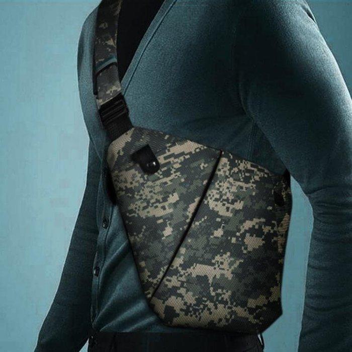 NewBring單肩包小胸包男斜挎包學生男士包包休閒運動小背包潮 【免運】