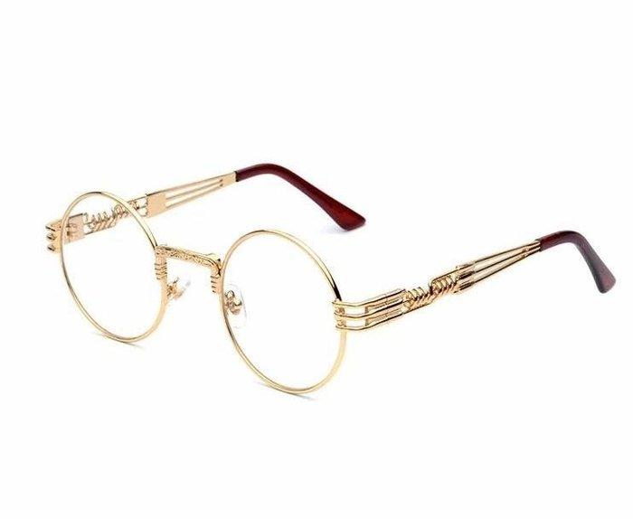 V.W SHOP 金色圓框眼鏡 YZ同款 TGMF