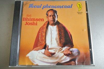 CD ~VOCAL PHENOMENAL Sri Bhimsen Joshi ~1992 Shefa 無IFPI