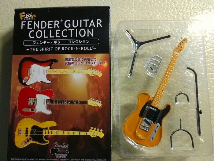 F Toys Fender Telecaster 吉他模型 第一彈