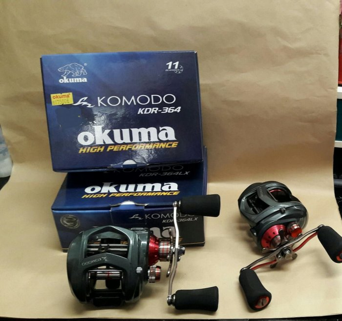 【欣の店】OKUMA 科莫多 KOMODO KDR-364 高級 擬餌拋投 捲線器  海水 大龜