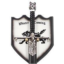 【劍天下】影視冰與火之歌長爪劍權利的游戲周邊武器道具瓊恩冰原狼劍未開刃(請聯絡客服確定規格所對應的價格后再購買)