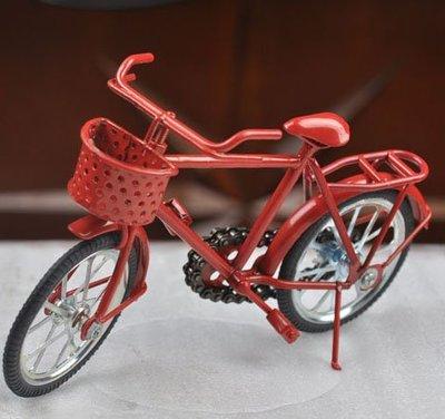 宋家苦茶油Biycycle.3真正鐵製腳踏車模型.女款.紅色.擺在櫥窗搭配好看.增加櫥窗氣質.擺在辦公桌上有氣氛.