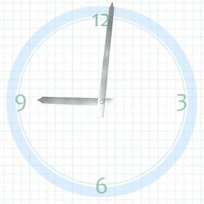【鐘點站】T116075S SUN機芯專用 銀色指針 / 分針116 mm 時針75 mm / DIY 時鐘 掛鐘