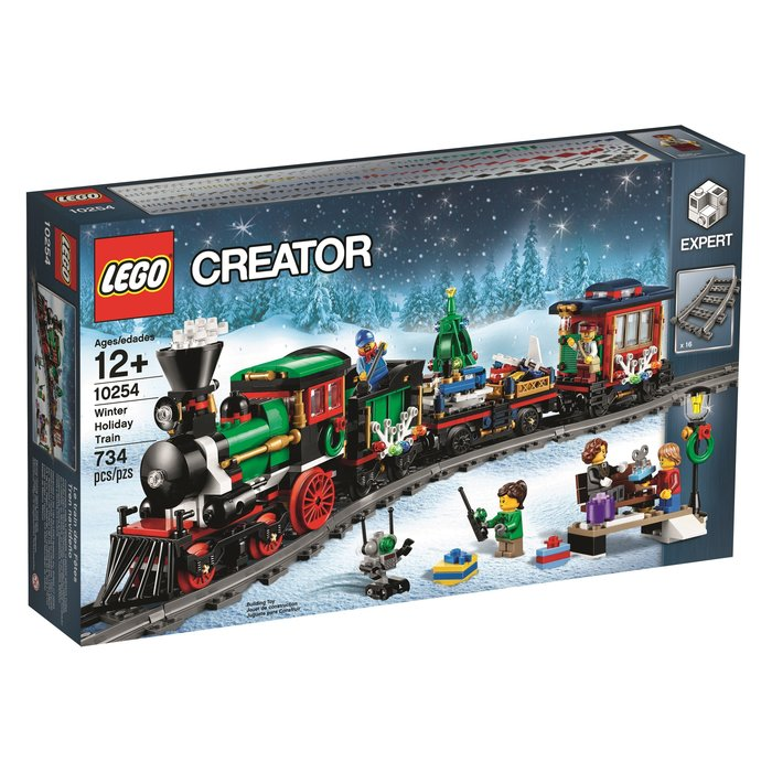 現貨免運【LEGO 樂高】全新正品 益智玩具 積木/ 冬季聖誕火車 Winter Holiday Train 10254