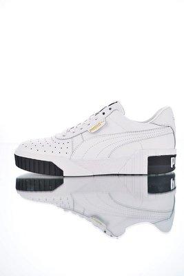 "PUMA Cali Women Leather""白黑""百搭 厚底增高 休閒滑板鞋 369155-04 女鞋"