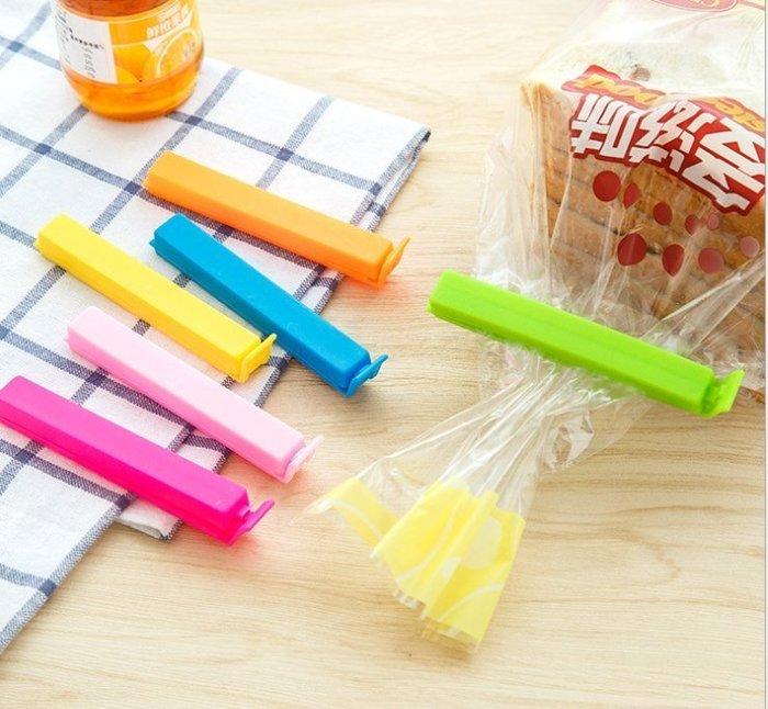 [溫馨小舖] 繽紛食物密封夾 密封條 密封棒 食物保存 防潮 彩色食品保鮮封口夾 食物袋密封夾 封袋夾