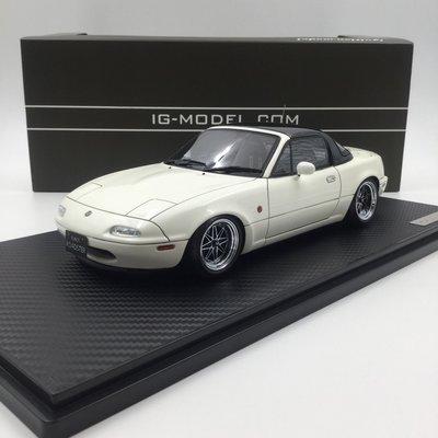 Ignition 1/18 Eunos Roadster NA White IG0664