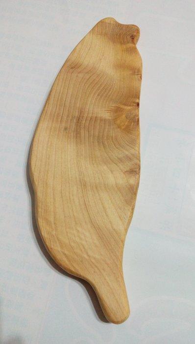 【九龍藝品】台灣檜木 ~ 台 灣 造 型 ~ 折花.手工 【3】